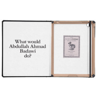 what would abdullah ahmad badawi do cover for iPad
