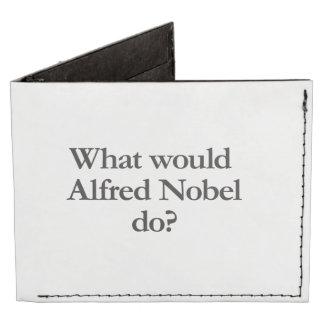 what would alfred nobel do tyvek® billfold wallet
