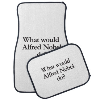 what would alfred nobel do car mat