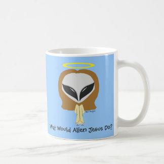 What Would Alien Jesus Do? Mug