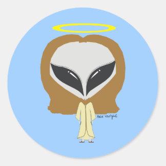 What Would Alien Jesus Do? Sticker