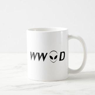 What Would Aliens Do? Coffee Mug