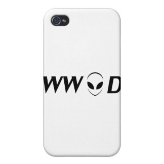 What Would Aliens Do? iPhone 4 Case