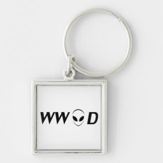 What Would Aliens Do? Keychain