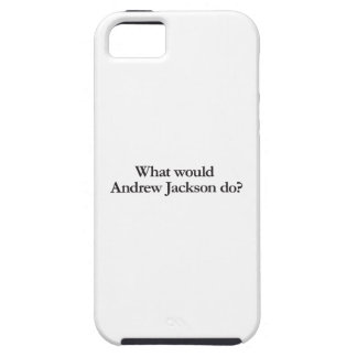 what would andrew jackson do iPhone SE/5/5s case