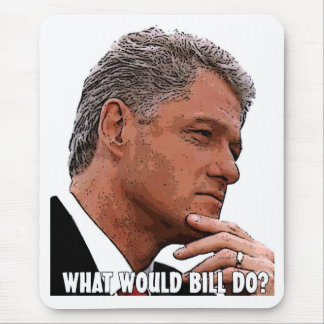What Would Bill Do? Mouse Pad