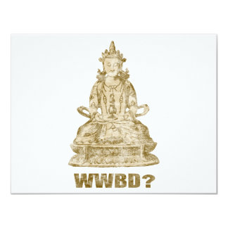What Would Buddha Do? Card