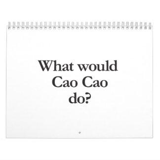 what would cao cao do calendar