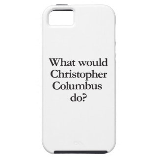 what would christopher columbus do iPhone SE/5/5s case