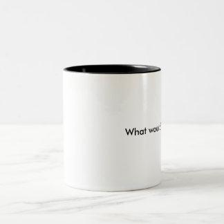 What would Dagny do? Two-Tone Coffee Mug