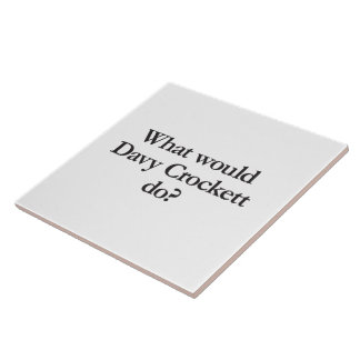 what would davy crockett do ceramic tiles