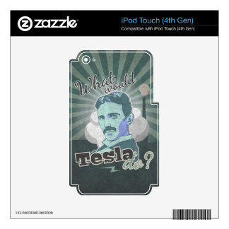 What would Do Tesla? iPod Touch 4G Decals