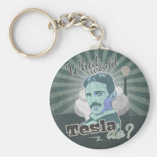 What would Do Tesla? Keychain