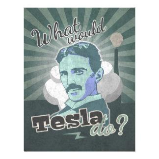 What would Do Tesla? Letterhead
