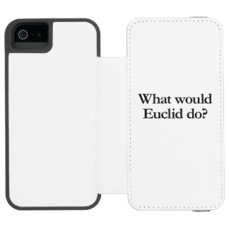 what would euclid do incipio watson™ iPhone 5 wallet case