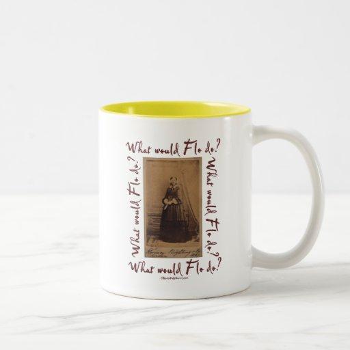 What would Flo Do? Florence Nightingale Mugs
