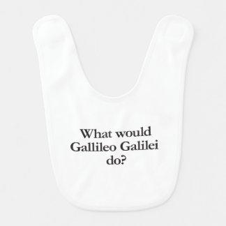what would gallileo galilei do baby bibs