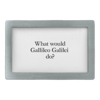 what would gallileo galilei do belt buckle