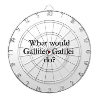 what would gallileo galilei do dartboard