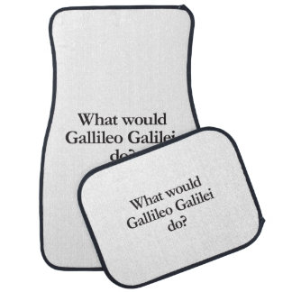 what would gallileo galilei do floor mat