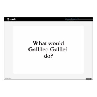 what would gallileo galilei do laptop decal