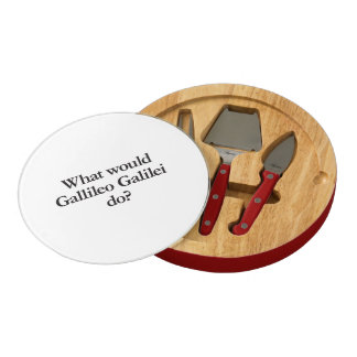 what would gallileo galilei do round cheese board