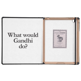 what would gandhi do iPad covers