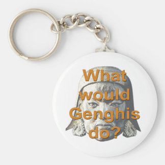 What Would Genghis Do? Key Chain