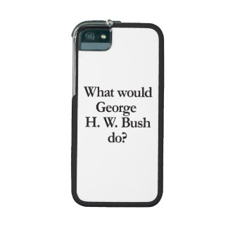 what would george h w bush do iPhone 5/5S cover