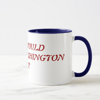 WHAT WOULD GEORGE WASHINGTON DO? MUG