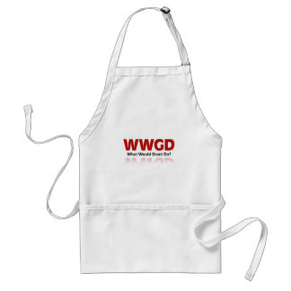 What would Grant do? Adult Apron