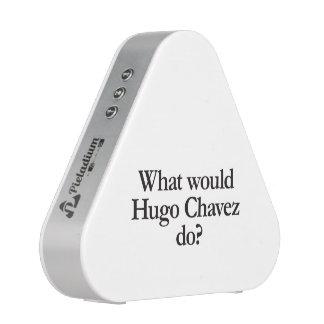 what would hugo chavez do speaker