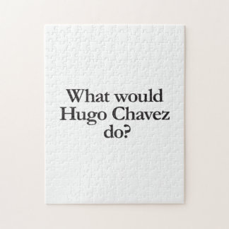 what would hugo chavez do jigsaw puzzle
