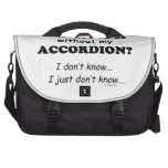 What Would I Do, Accordion Computer Bag