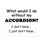 What Would I Do, Accordion Post Card