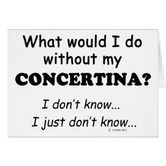 What Would I Do, Concertina Greeting Card