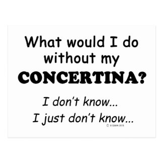 What Would I Do, Concertina Postcard