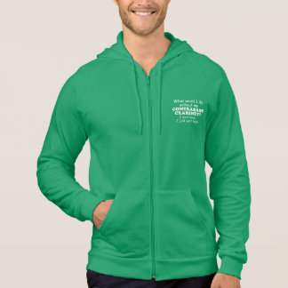 What Would I Do, Contrabass Clarinet Hoodie