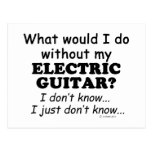 What Would I Do, Electric Guitar Postcard