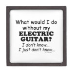 What Would I Do, Electric Guitar Premium Jewelry Box