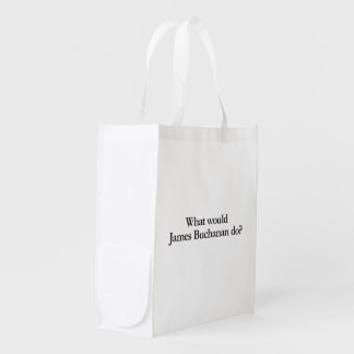 what would james buchanan do grocery bags