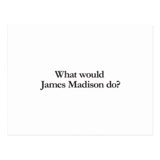 what would james madison do postcard