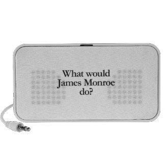 what would james monroe do laptop speaker