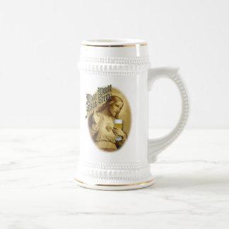 What Would Jesus Brew Beer Stein Mugs