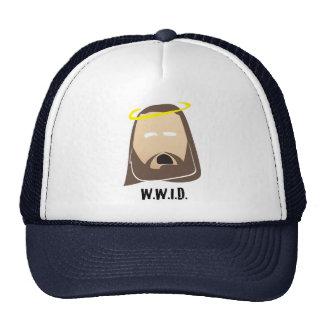 what would jesus do trucker hat