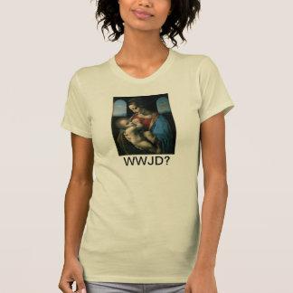 What Would Jesus Do? Celebrate Breastfeeding T-Shirt