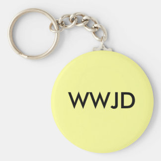 What Would Jesus Do Keychain