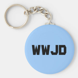 What Would Jesus Do Key Chains