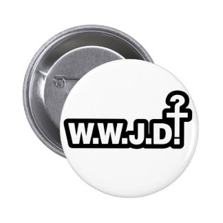 What Would Jesus Do? Pinback Button