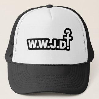 What Would Jesus Do? Trucker Hat